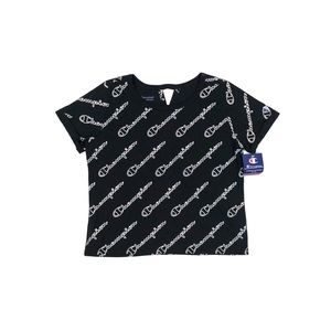 Women's Champion Short Sleeve Cropped Top